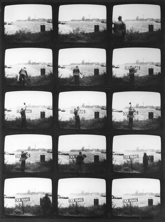 1970 Verwisseling plaatsnaam Rotterdam en Den Haag - Wim Gijzen