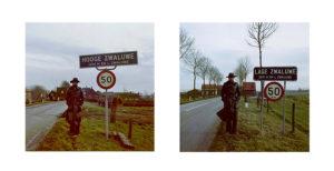 1974 HOOGE ZWALUWE - LAGE ZWALUWE 5 jan 1974 - Coll Becht