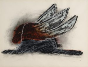 1985 wim gijzen composition with wings