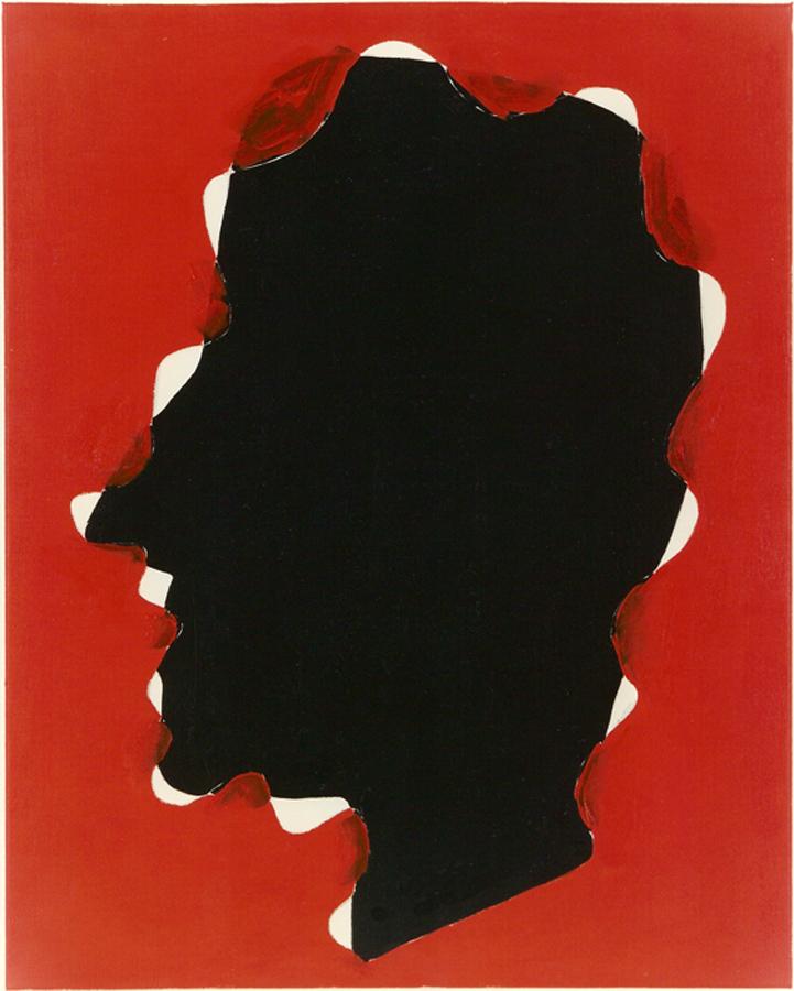1989 Schilderij ZT 100 x 80 cm olieverf op linnen