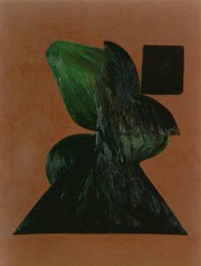 1991 Schilderij ZT-250 x 190 cm-olieverf op linnen - Coll J de Rhoter