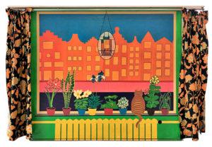 Wim Gijzen - 1966 Rear window